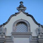 Родос, Дом Правительства, украшение фасада