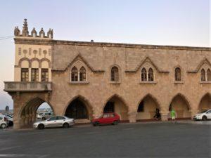 Родос, Дом правительства, вид со стороны города