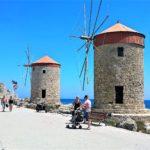 Ветряные мельницы поблизости от форта Св. Николая