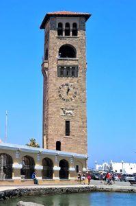 Башня Храма Благовещения в Родосе