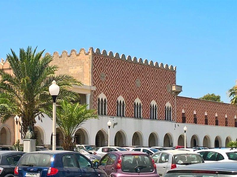 Дворец губернатора Родоса
