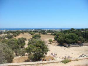 Вид со смотровой площадки Храма Аполлона