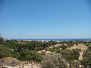 Вид на город с горы Монте Смит