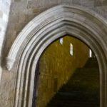 Лестница на второй этаж Дворца Великих Магистров