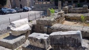 Камни языческого Храма Афродиты