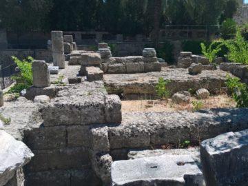Руины Храма Афродиты в Родосе