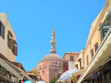 Мечеть Сулеймана Великолепного в Родосе