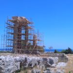 Колонны Храма Аполлона родосского акрополя