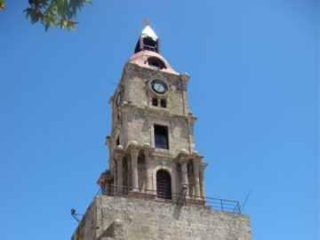Башня с часами в Родосе