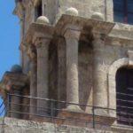 Декоративные колонны первого яруса Часовой башни в Родосе