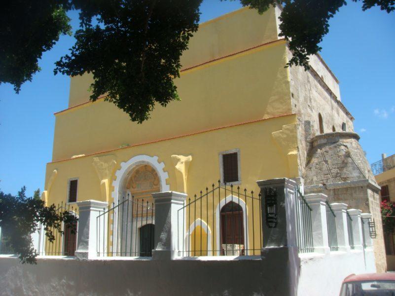 Мечеть султана Мустафы в Родосе