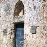 Центральная входная дверь в Храм Святой Екатерины в Родосе
