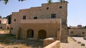 Восстанавливаемая часть Гостевого дома Святой Екатерины