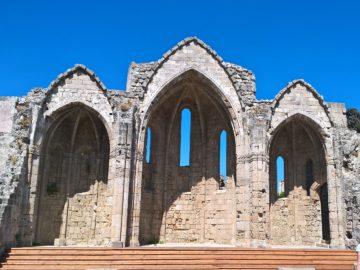 Церковь Богородица Бурго в Родосе