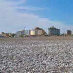 Вид на Океанариум Родоса со стороны мыса