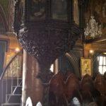 Оформление колонны Кафедрального Собора