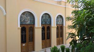 Входная группа дверей фасадной части Кафедрального Собора