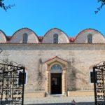 Ворота и прихрамовая территория Церкви Введения во храм Пресвятой Богородицы