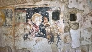Остатки фресок Храма Святого Иоанна