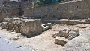 Остатки стен Храма Святого Иоанна