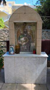 Икона Иоанна Предтечи во дворике