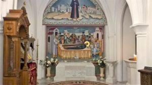 Место поклонения святому Новомученику Константину