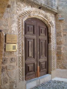 Вход Храма Святого Николая