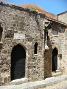Два входа в Храм Святой Троицы