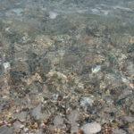 Кристально-чистая вода у берегов мыса Родоса