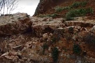 Часть разрушенной стены бастиона святого Димитрия в Ханье