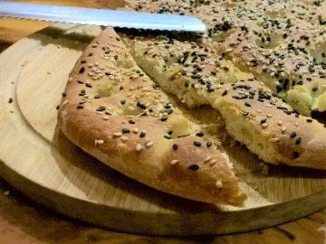 Лагана - хлеб Чистого Понедельника