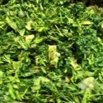 Шпинат с зеленью
