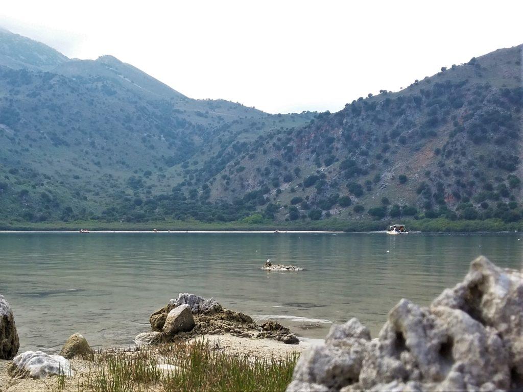 Крит, озеро Курнас - фото