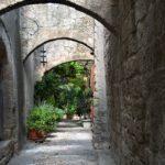 Родос, Старый город, средневековая улочка