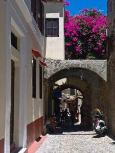 Родос, Старый город, улица