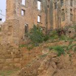 Часть крепостной стены в Ханье