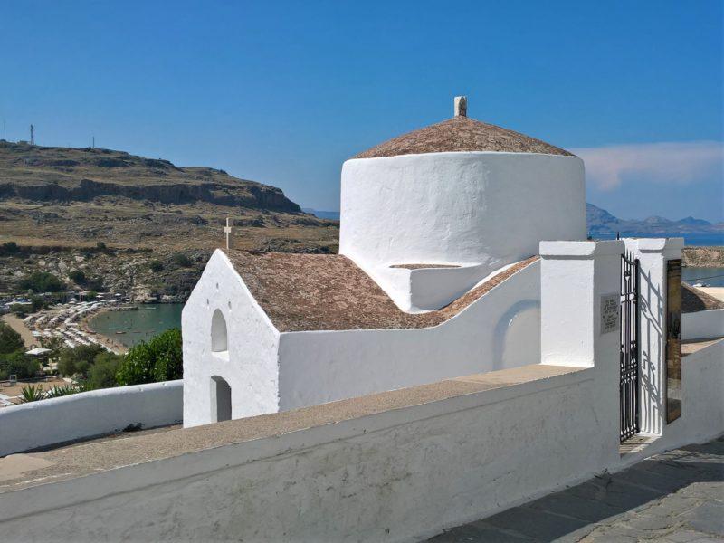 Линдос, Храм Святого Георгия Пахимахиотиса