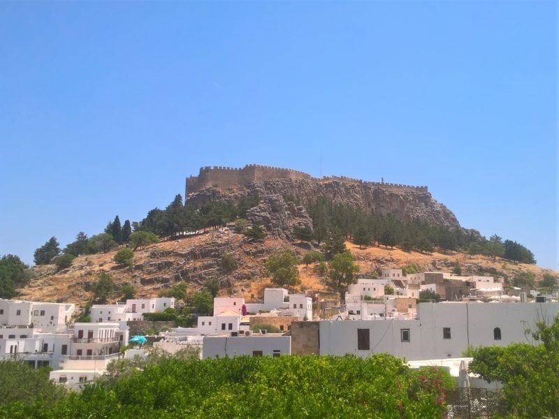 Старый город Линдос и Акрополь