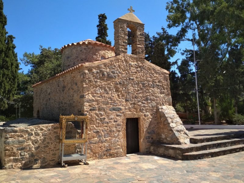 Агиос Николаос, Храм Святого Николая