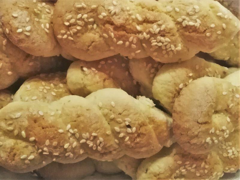 Кулураки - греческое печенье