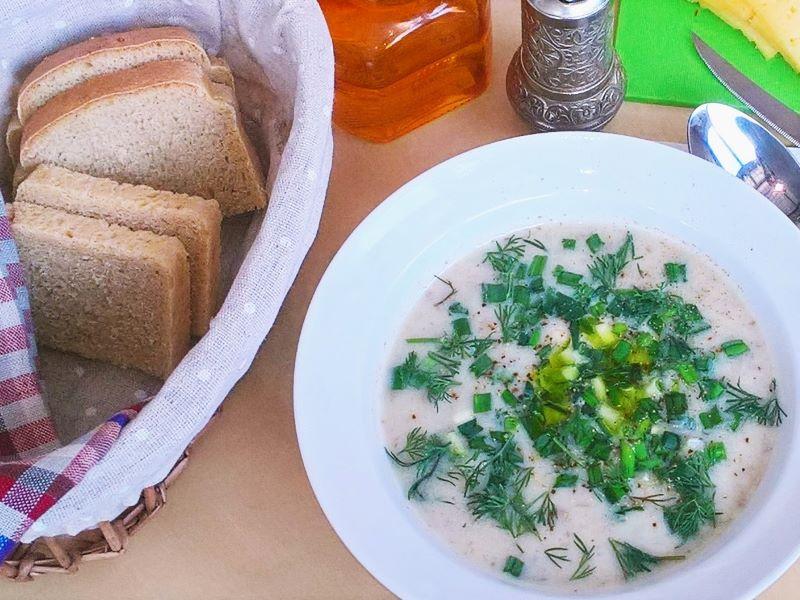 Греческий суп магирица