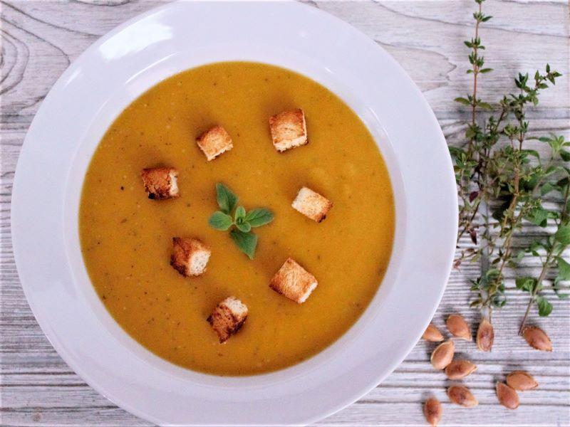 Суп пюре из тыквы - фото