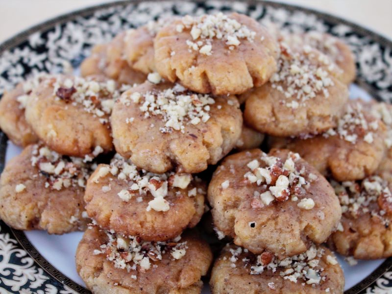 Греческое рождественское печенье - меломакарона